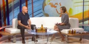 TV N1 presented the book Traditional Serbian food and recipes