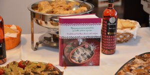 Presentation of the book Traditional Serbian food and recipes in winery Trilogy